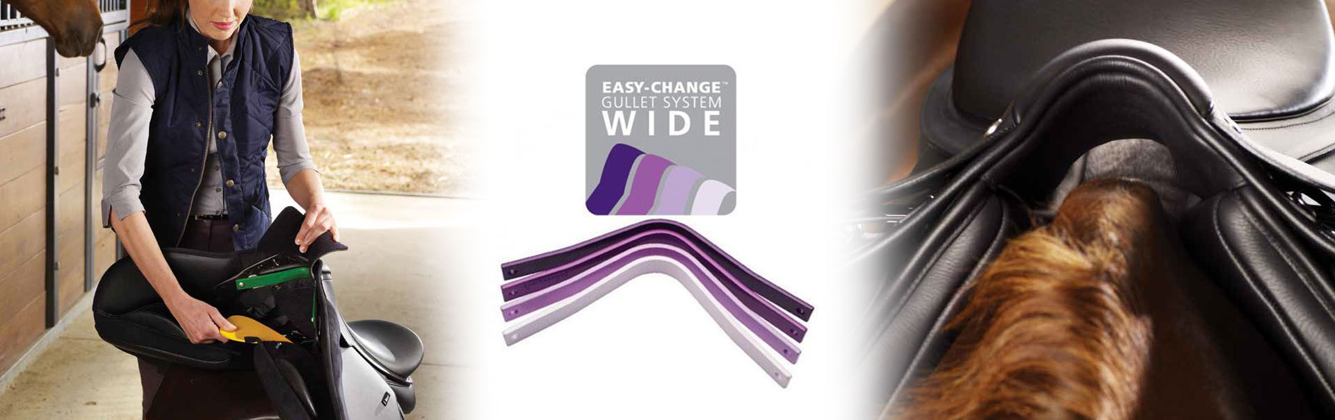 Easy-Change WIDE Gullet System