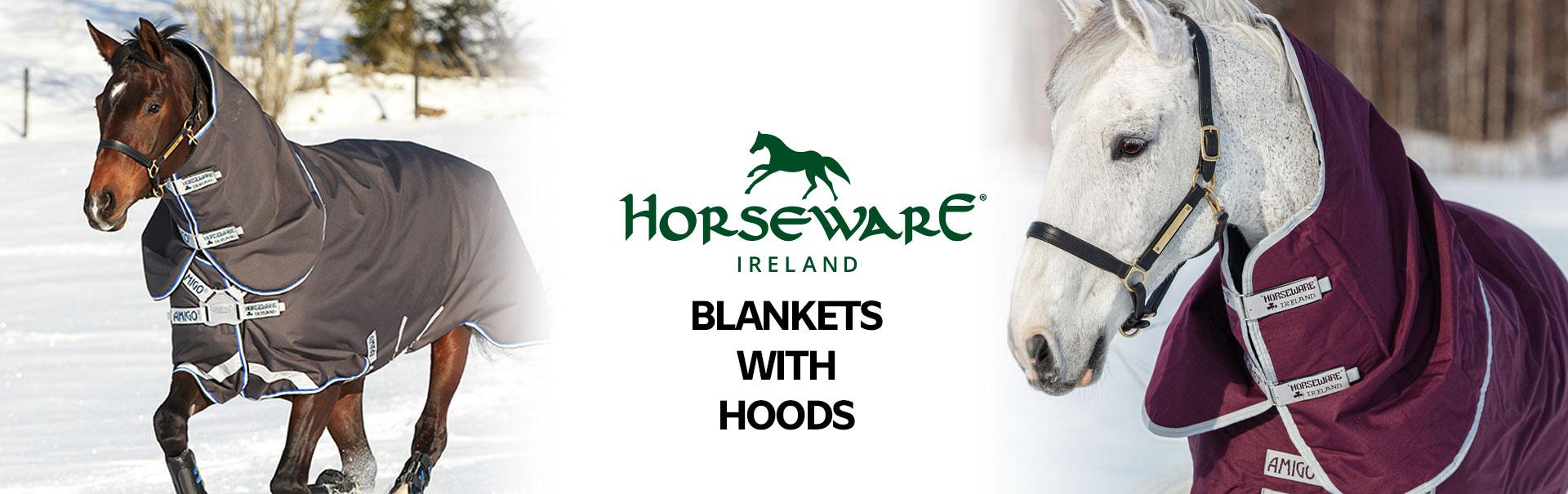 Horseware Blankets with Hoods