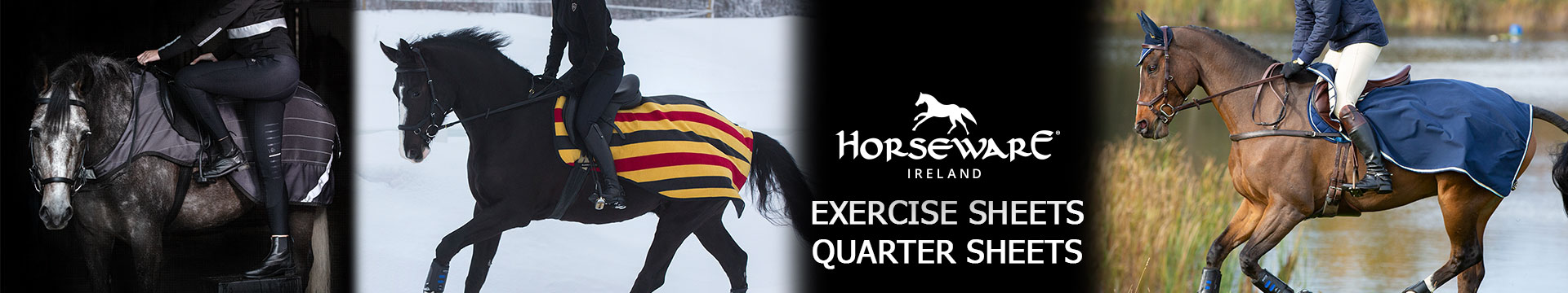 Horseware Quarter Sheets/Exercise Sheets