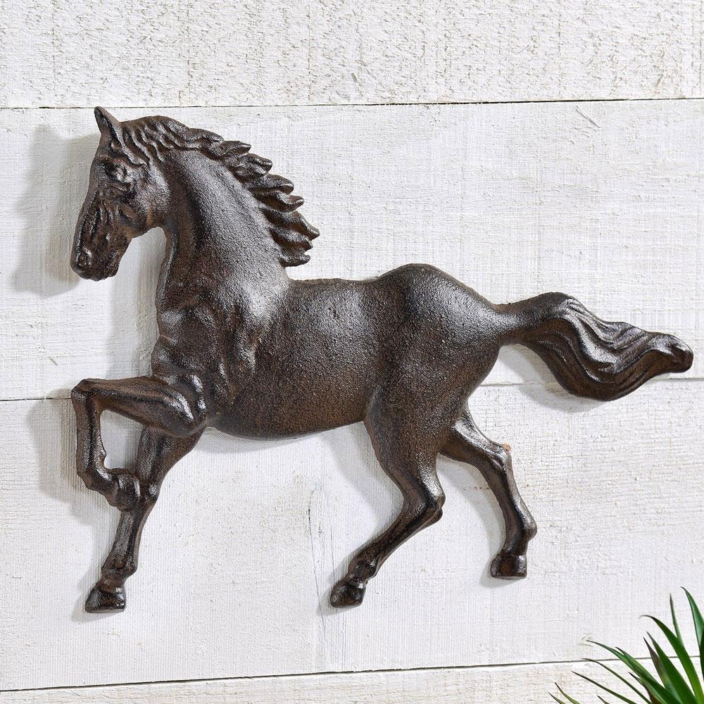 "Cast Iron ""Horse"" Wall Art"