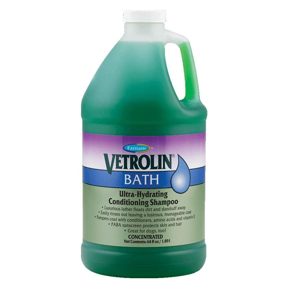 Farnam Vetrolin Bath Shampoo - 1.89 L