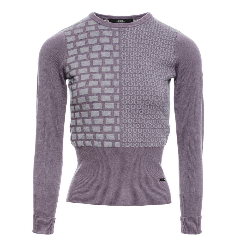 AA Ladies' Round Neck Equestrian Sweater