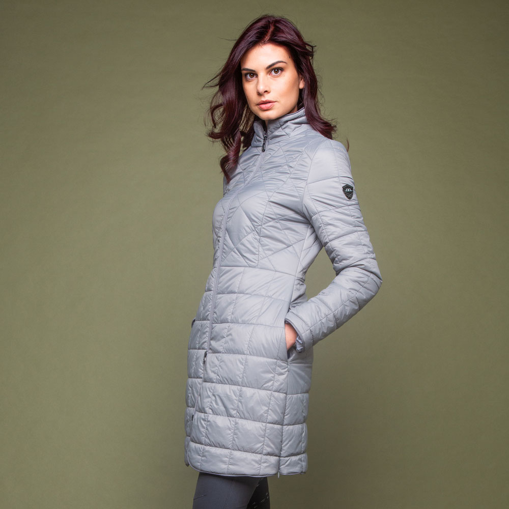 AA Platinum Insula Quilted Long Coat