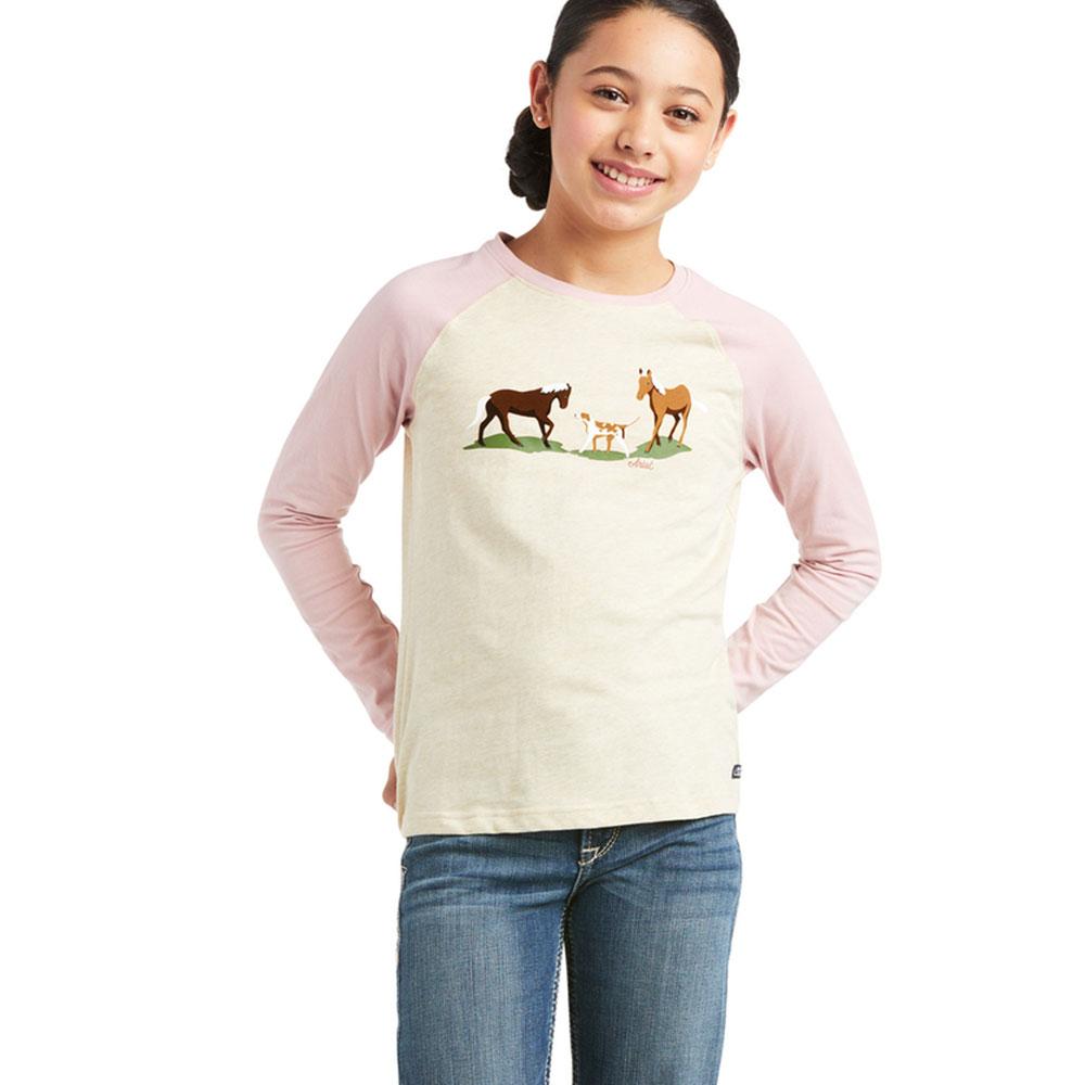 """Ariat Youth """"Pasture Scene"""" Tee Shirt"""