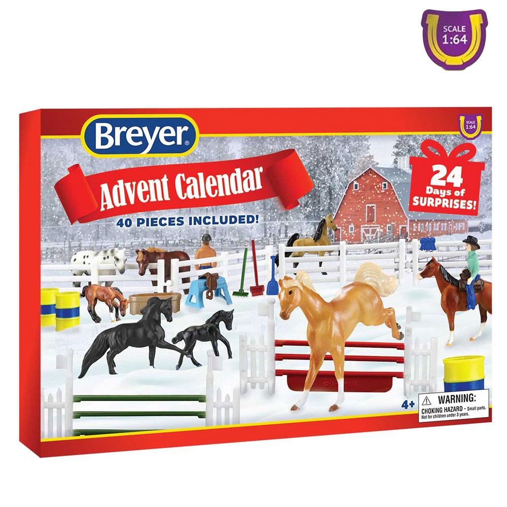 Breyer Advent Calendar Mini Winnies Play Set