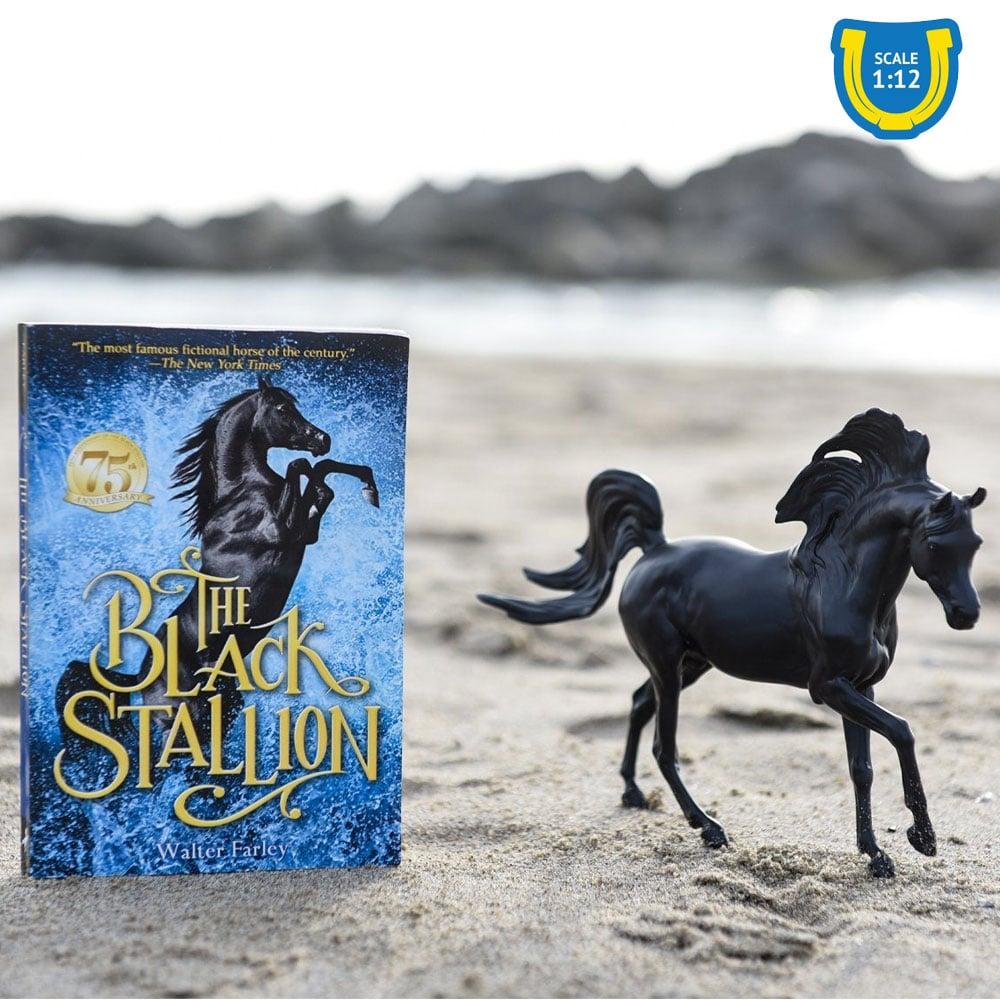 Breyer Black Stallion with Book