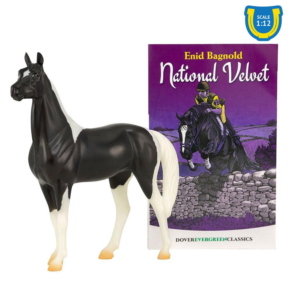 Breyer National Velvet Horse and Book Set