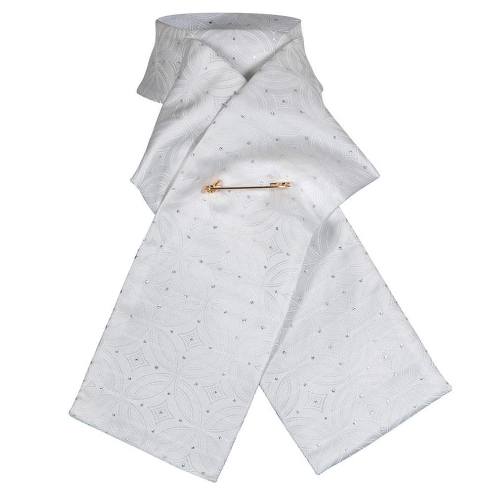 Brocade Ready-Tied Stock Tie