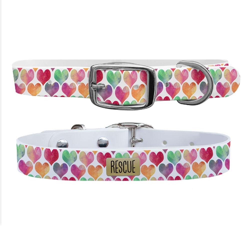 C4 Rescue Dog Collar - Pink