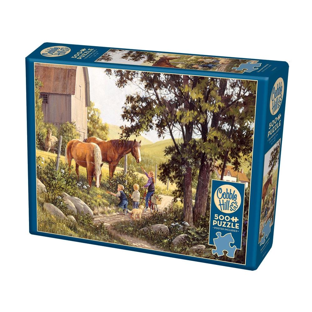 "Cobble Hill ""Summer Horses"" Puzzle"