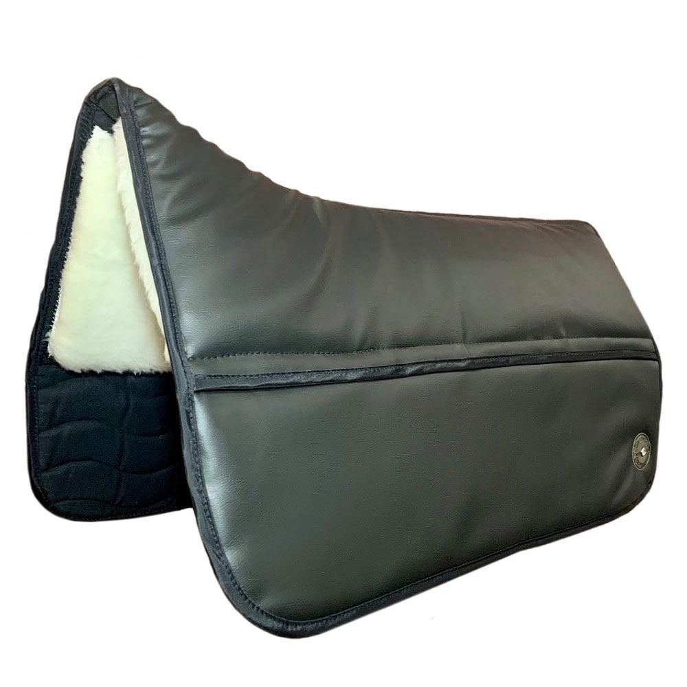 Coopersridge Vegan Leather Western Saddle Pad