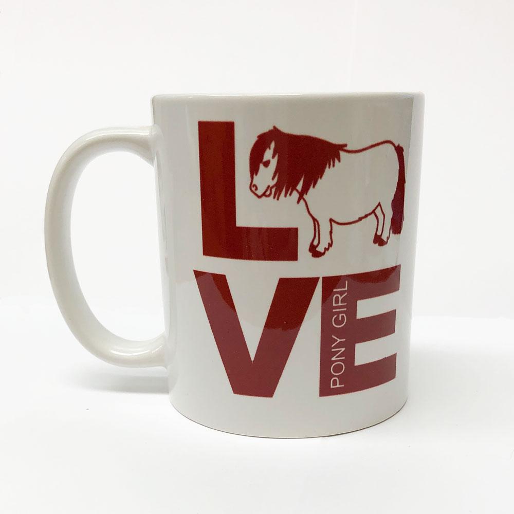 "Costa Classics ""Love... Best Pony"" Mug"