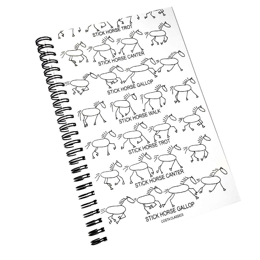 "Costa Classics ""Stick Horse Gaits"" Journal Set"