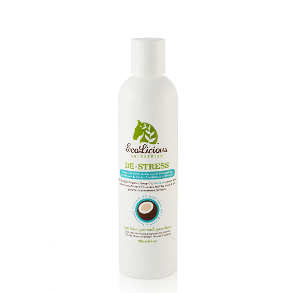 EcoLicious De-Stress Intensive Restructuring & Detangling Mane and Tail Conditioner
