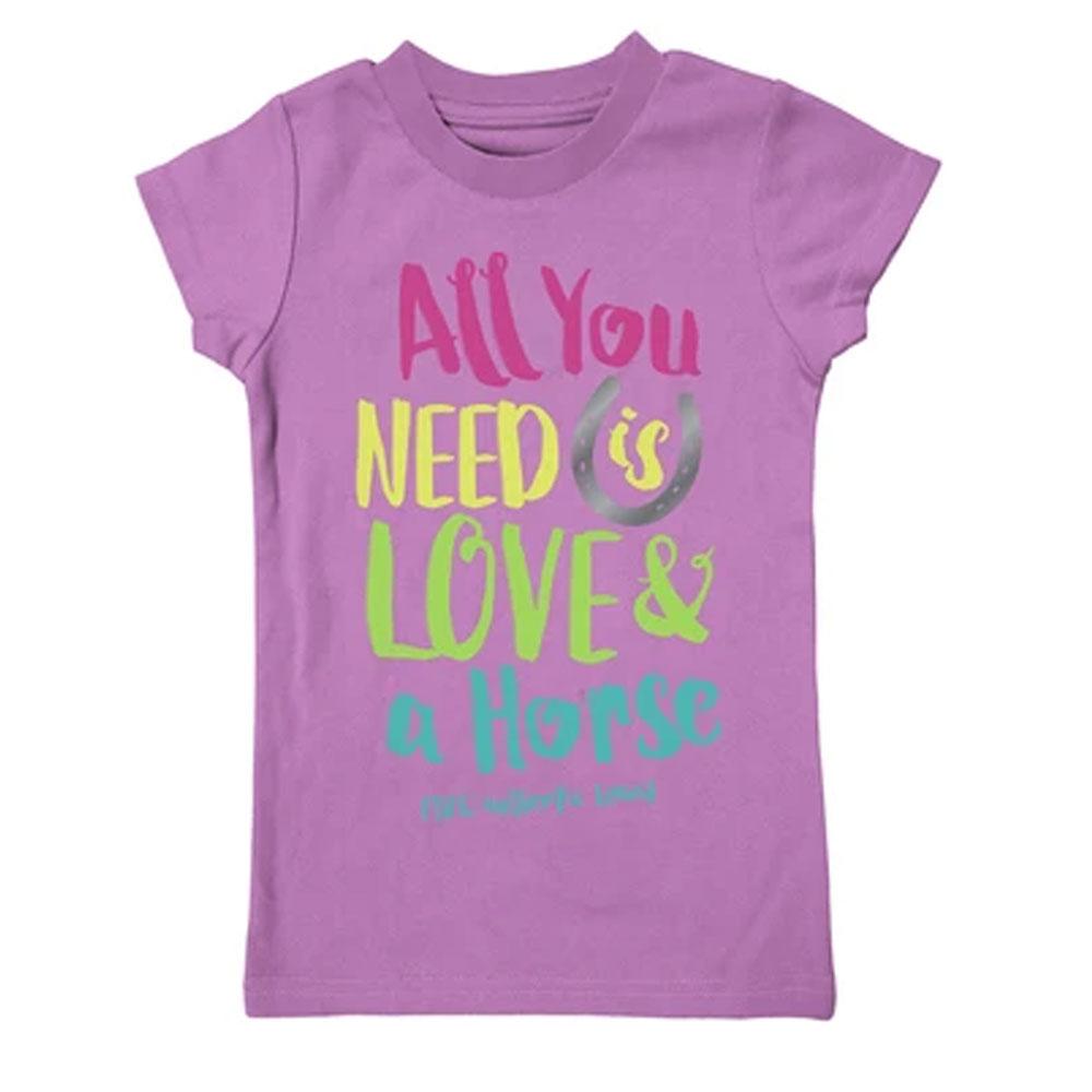 "Farm Boy Farm Girl ""All You Need..."" Girls Tee Shirt"