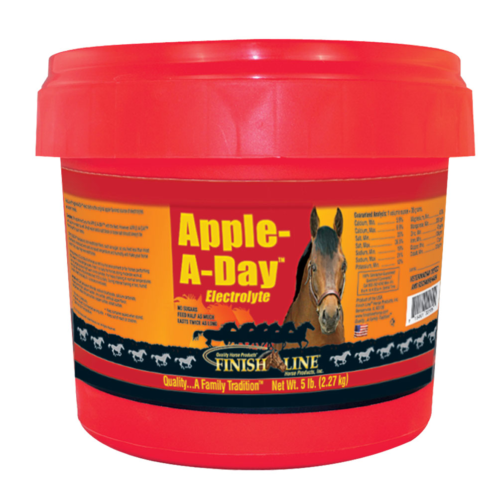 Finish Line Apple-A-Day Electrolyte - 5 lb