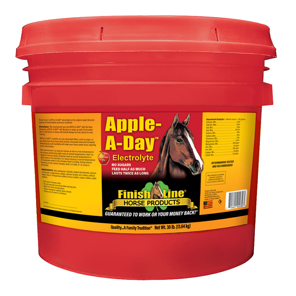 Finish Line Apple-A-Day Electrolyte - 30 lb