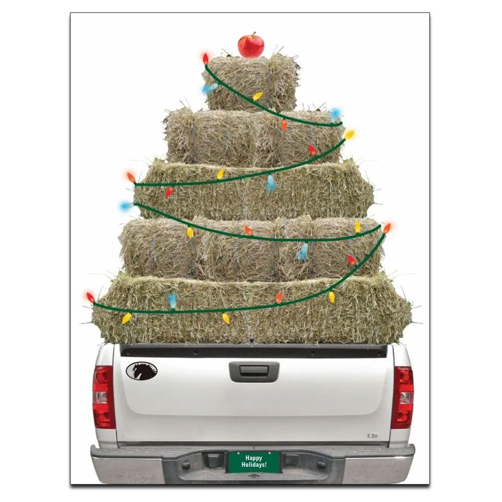 "Horse Hollow Press ""Hay Truck"" Holiday Card"