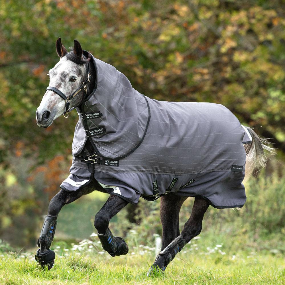 Horseware Amigo Bravo 12 Reflectech Plus 100g Light Weight Turnout Blanket