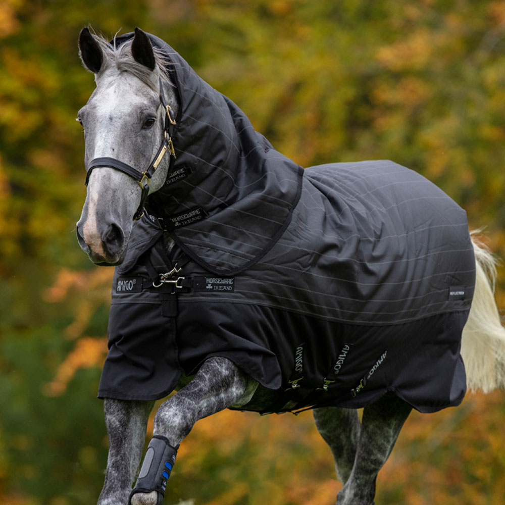 Horseware Amigo Bravo 12 Reflectech Plus 250g Medium Weight Turnout Blanket