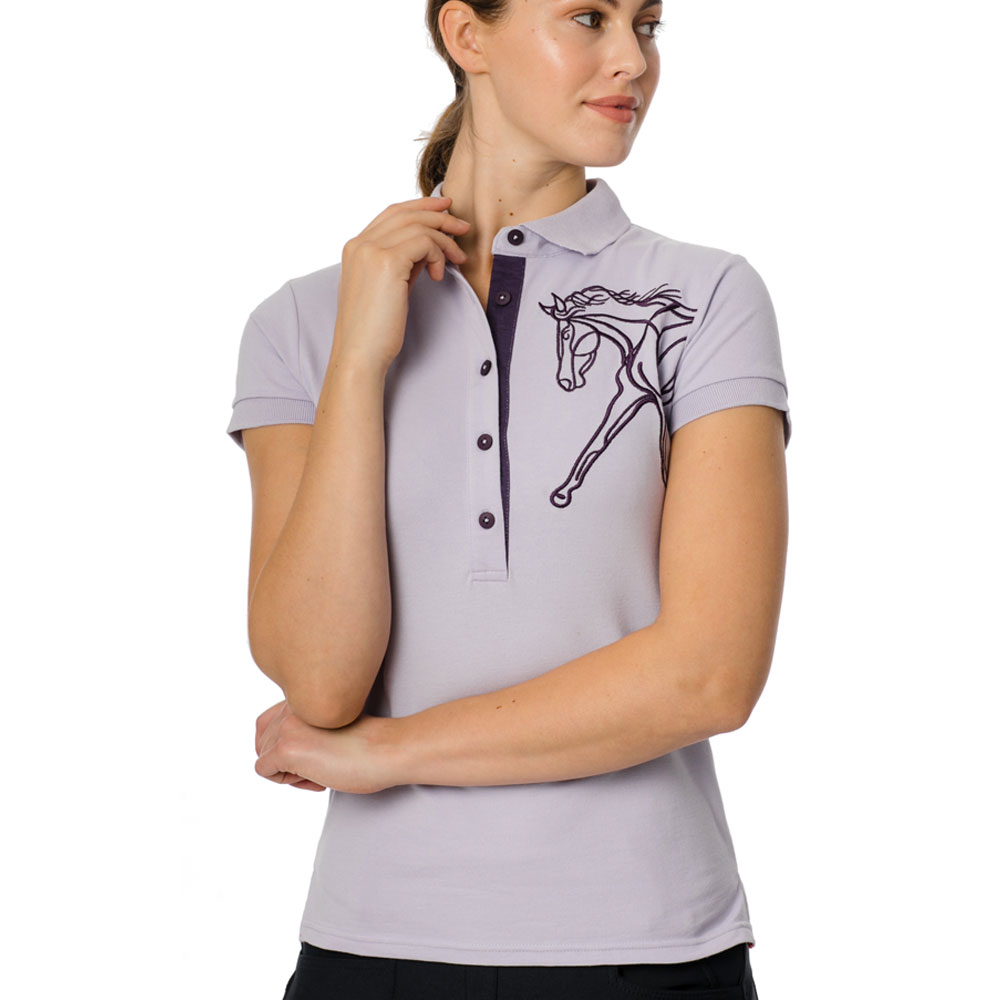 Horseware Ladies' Flamboro Pique Polo Shirt