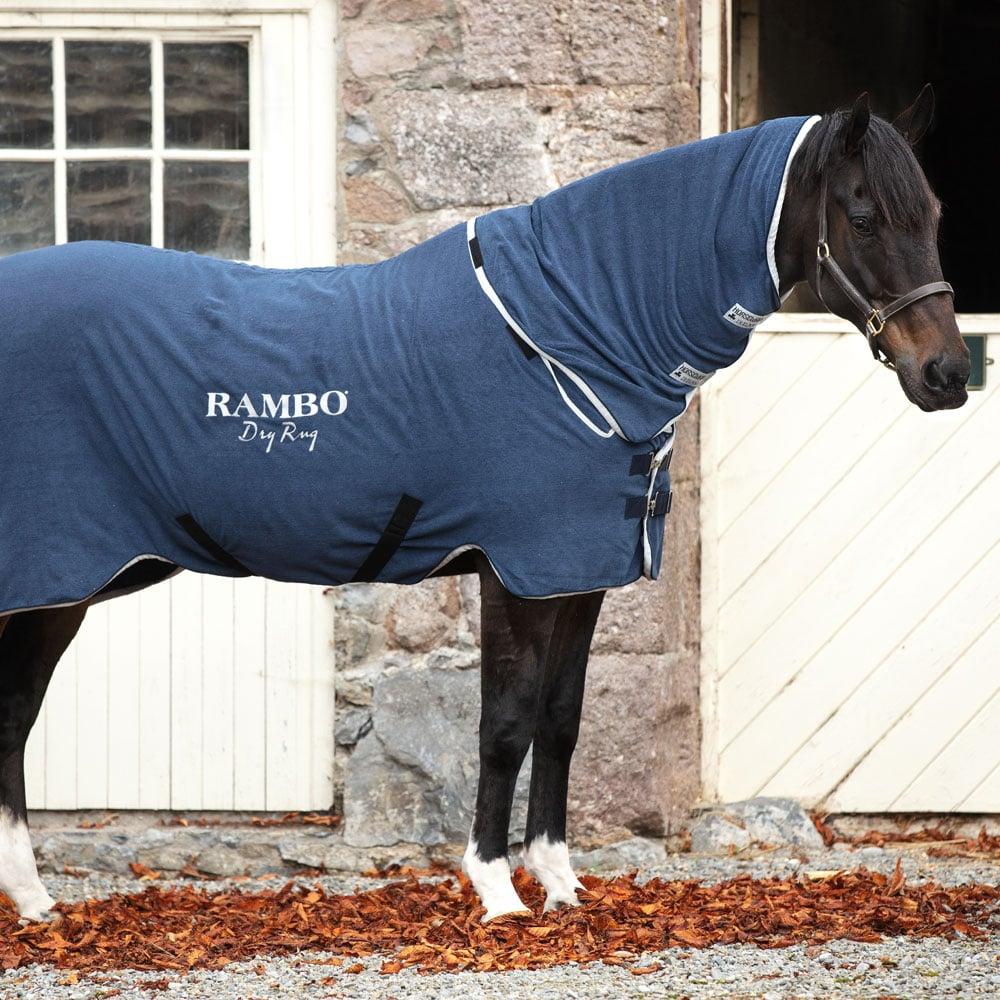 Horseware Rambo Microfibre Dry Rug