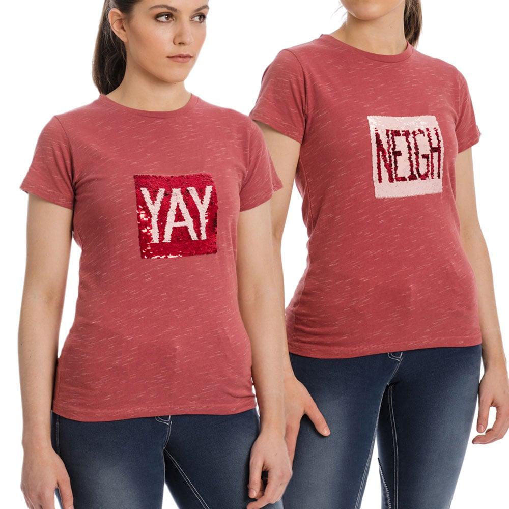 """Horseware """"Yay & Neigh"""" Ladies Tee Shirt"""