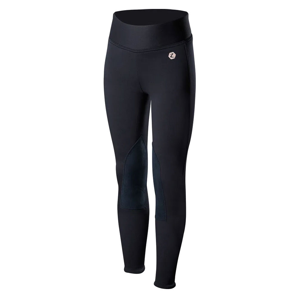 Horze Active Knee Patch Youth Winter Riding Tights