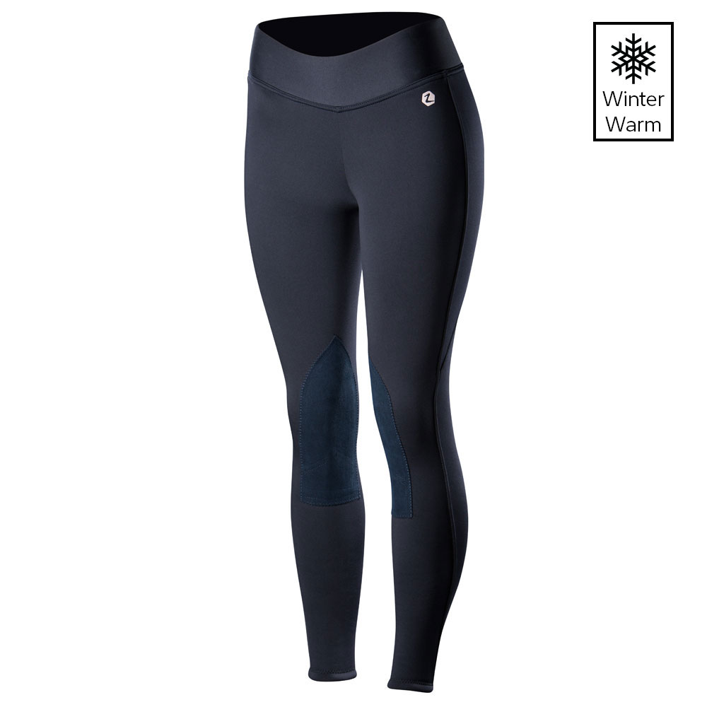 Horze Active Knee Patch Ladies' Winter Riding Tights