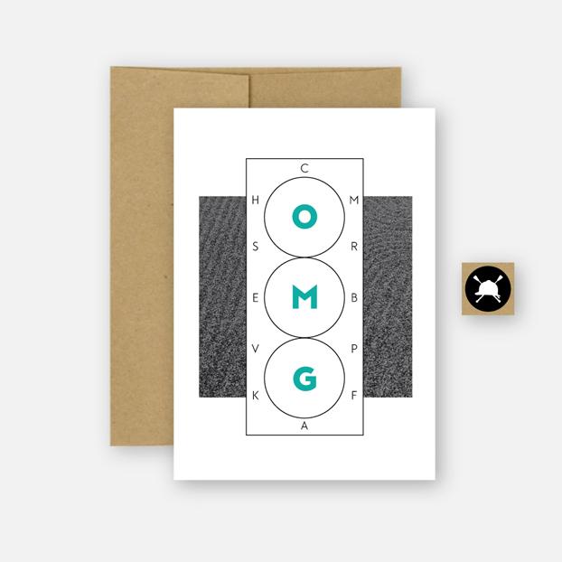 Hunt Seat Paper Card OMG Dressage