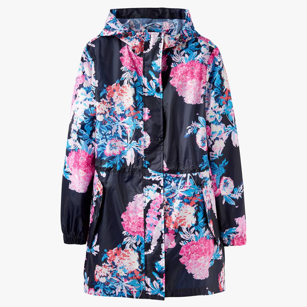 Joules Golightly Cottage Flora Rain Jacket