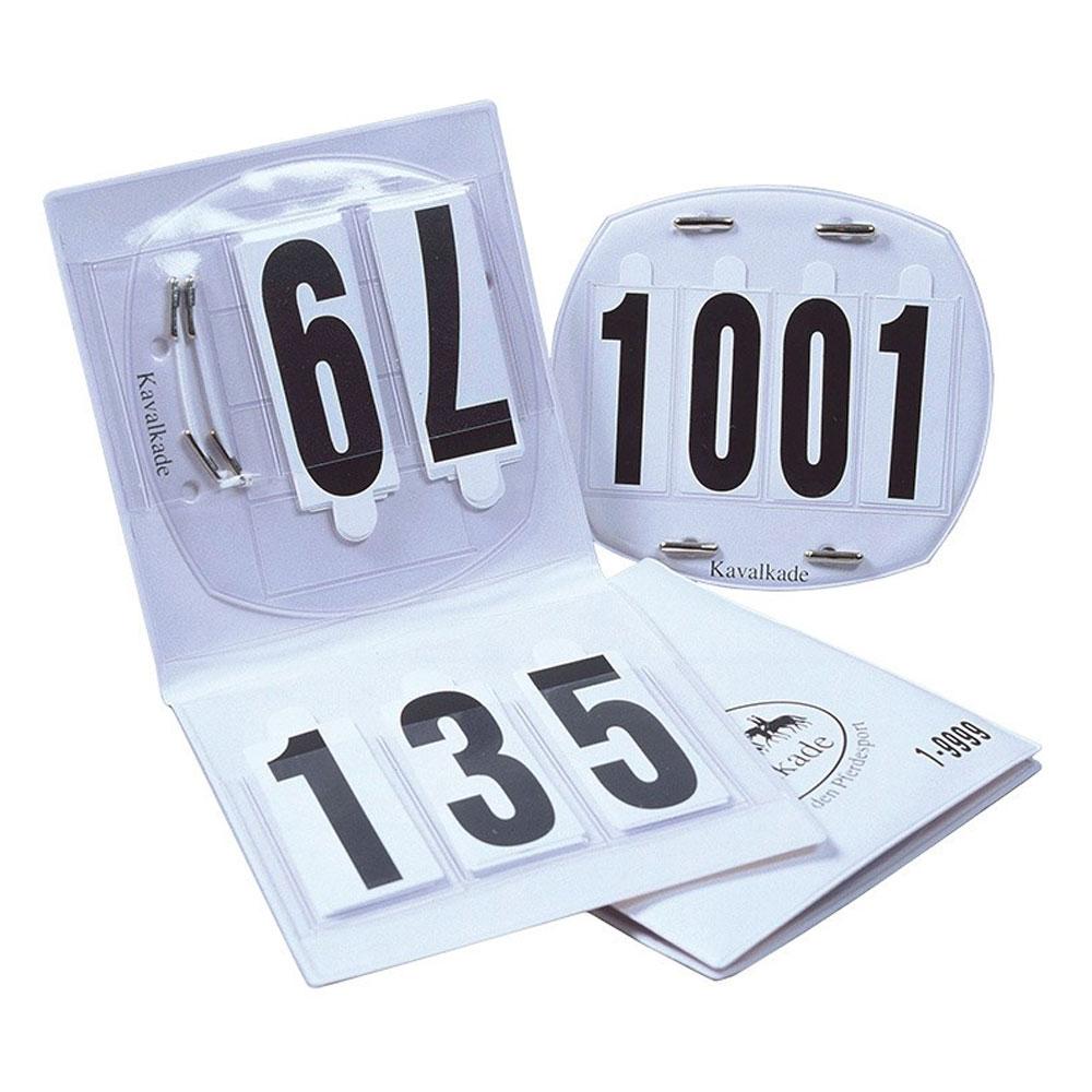 Kavalkade 4-Digit Number Set