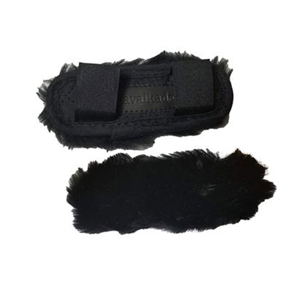Kavalkade Shearling Chin Pad with 2 Velcro Attachments