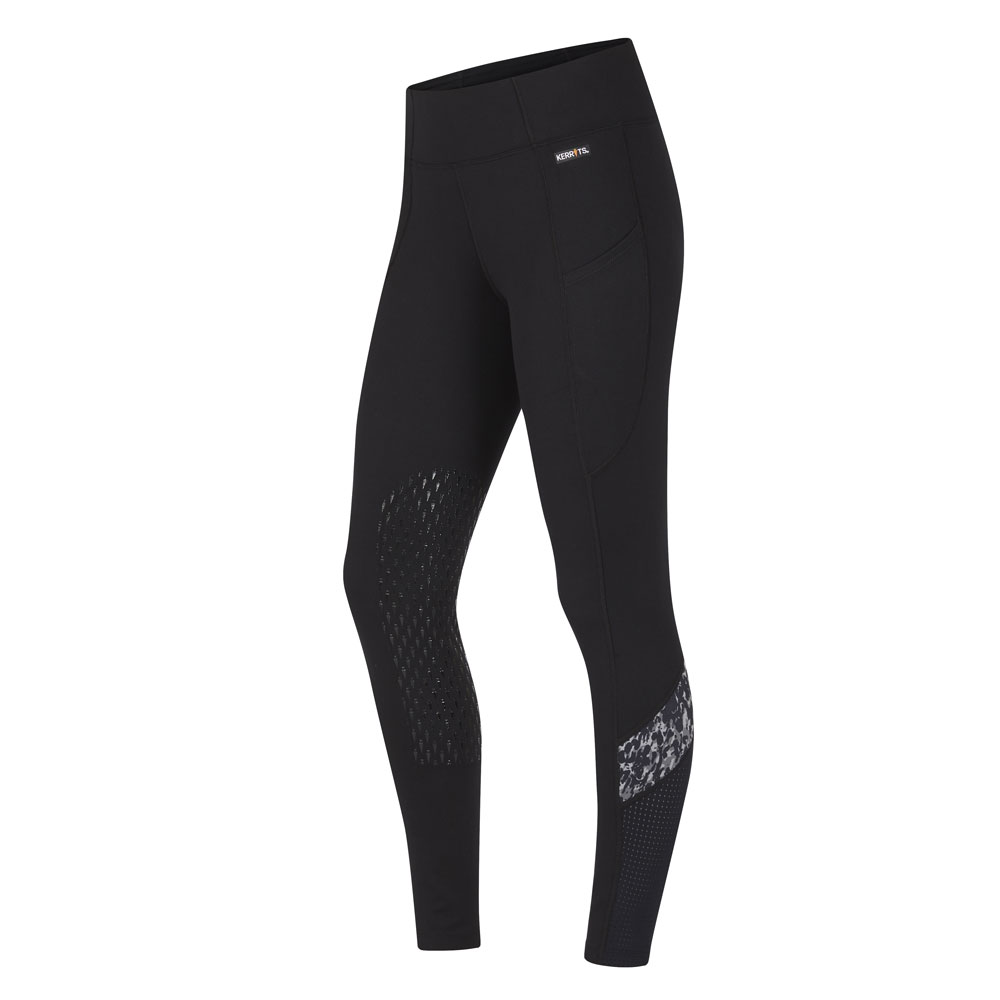 Kerrits Freestyle Ladies' Knee Patch Pocket  Riding Tights