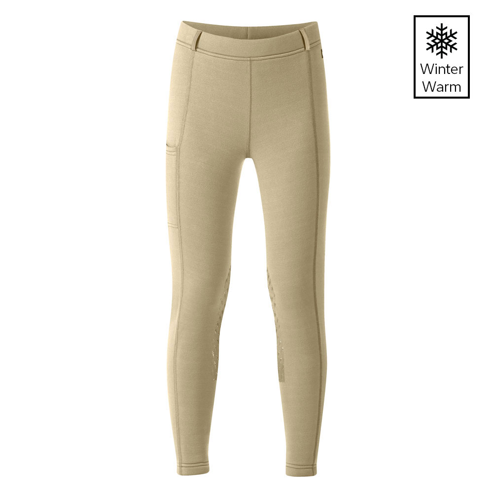 Kerrits Pocket Powerstretch Youth Winter Riding Tights