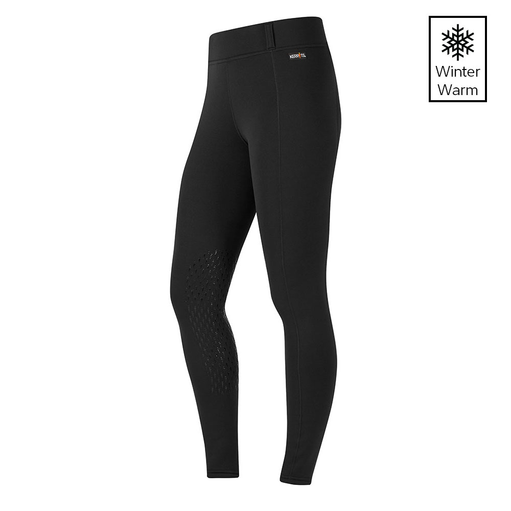 Kerrits Power Stretch Pocket II Winter Knee Patch Winter Riding Tight