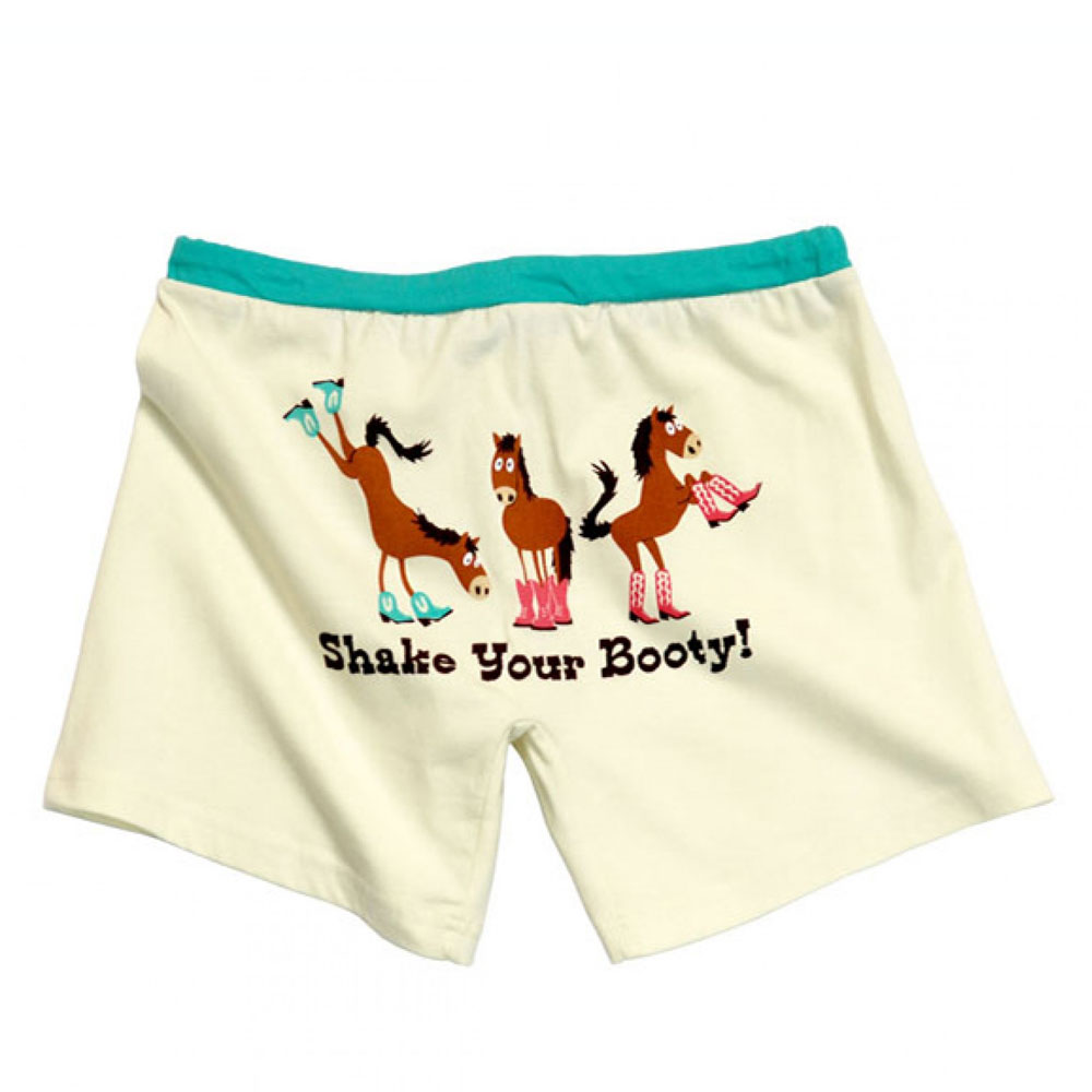 """Lazy One """"Shake Your Booty!"""" Boxers"""