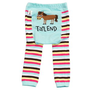 """Lazy One """"Tail End"""" Infant Leggings"""