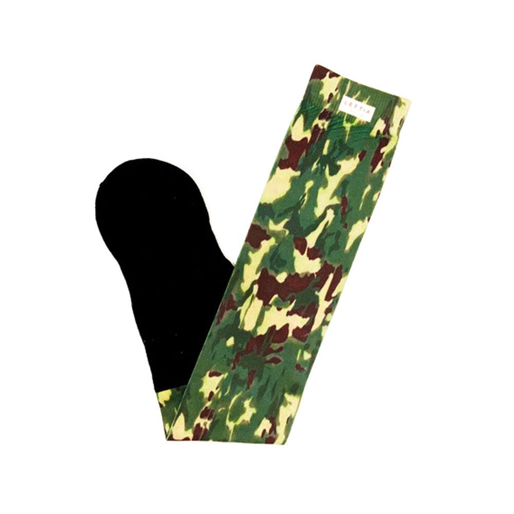 "Lettia ""Camo"" Padded Boot Socks"