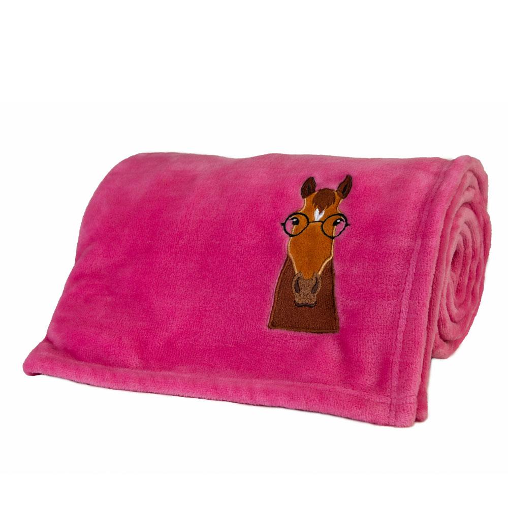 Lettia Fleece Throw Blanket