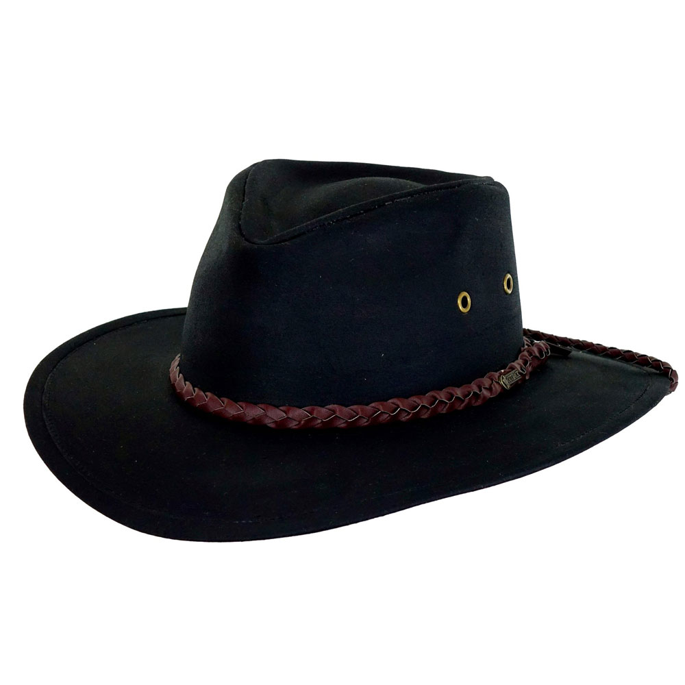 Outback Grizzly Oilskin Hat