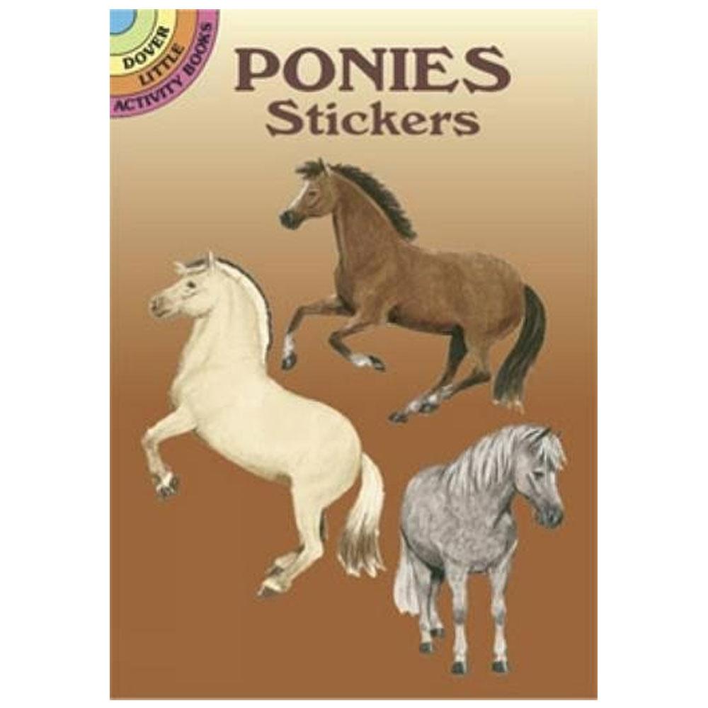 Ponies Sticker Book