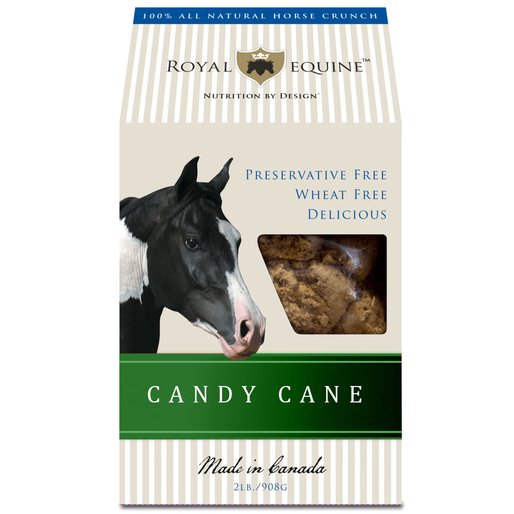 Royal Equine Candy Cane Treats