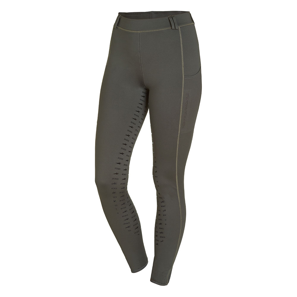 Schockemohle Sports Ladies' Style Glossy Riding Tights