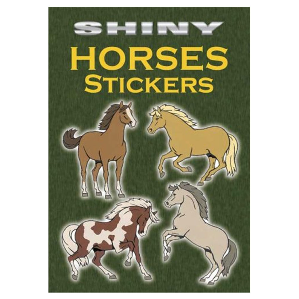 Shiny Horses Stickers Book
