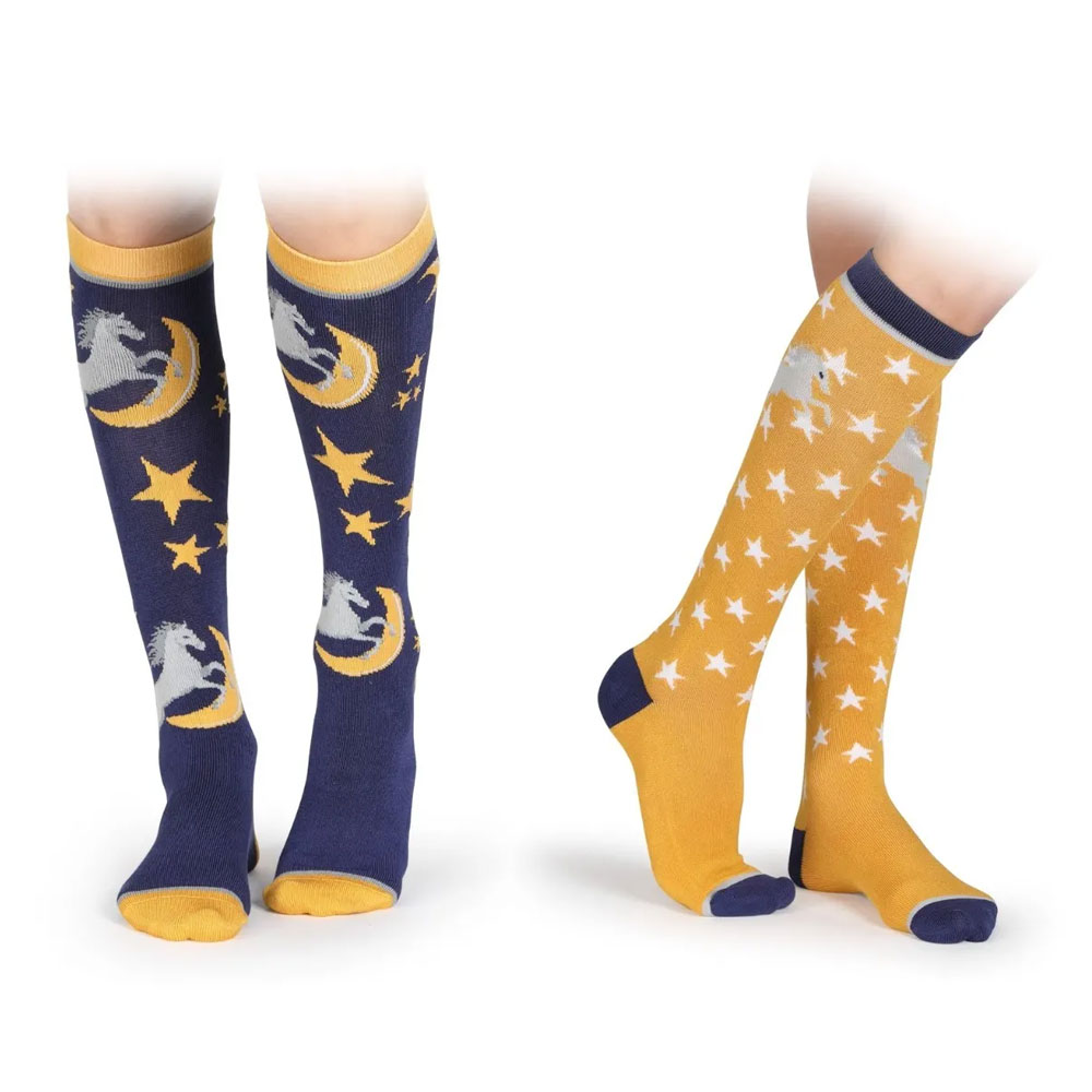 Shires Equestrian Bamboo Socks - 2 Pack