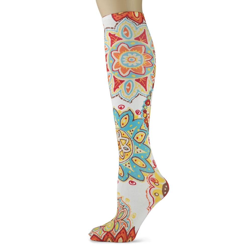 "Sox Trot ""Wonderland"" Boot Socks"