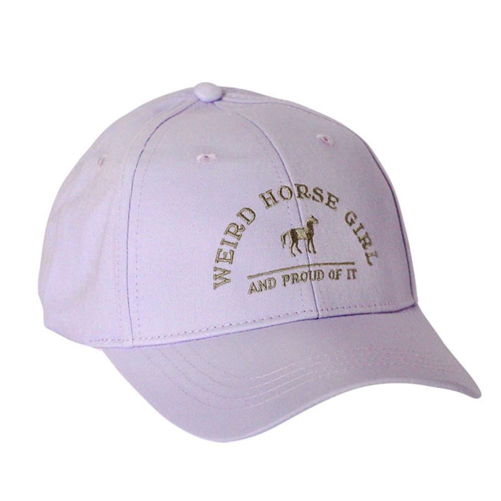 """Spiced Equestrian """"Weird Horse Girl"""" Hat"""