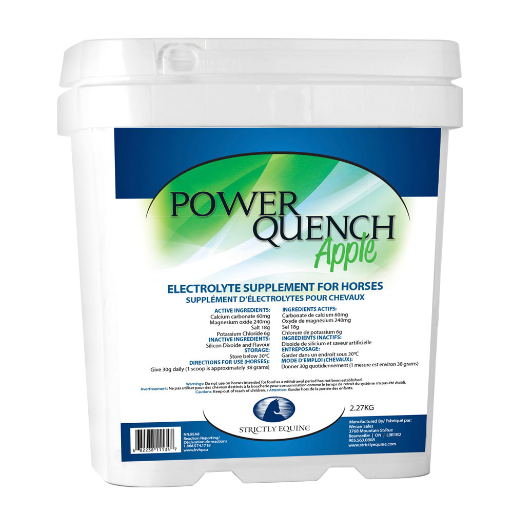 Strictly Equine Power Quench Electrolyte - 2.27 kg