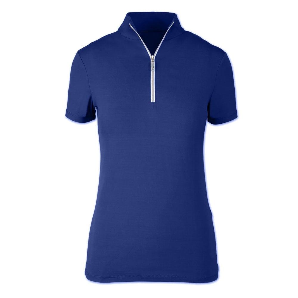 Tailored Sportsman Ladies' Icefil Zip Top Short Sleeved Shirt